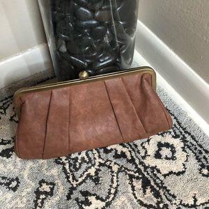 Handbags - Brown Clutch